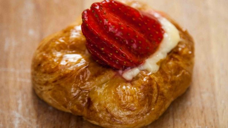 Strawberry Danish Bakery London